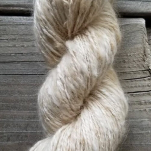100% Handspun Angora Bunny Yarn, Honey – $100.00