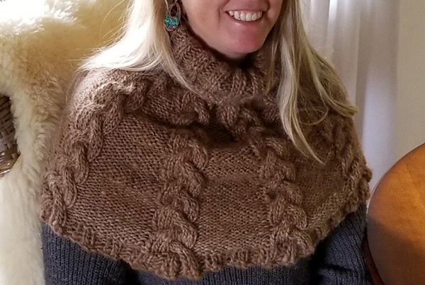 Alpaca & Sheep Cable Caplet – $450