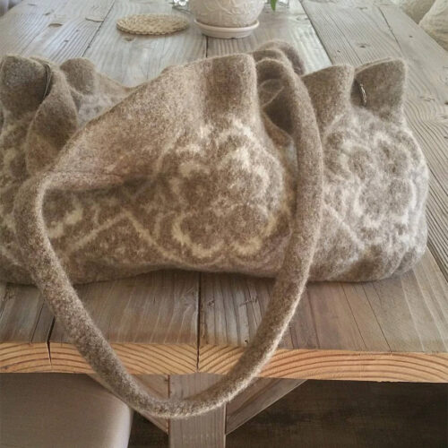 Felted Sheep Bag – $550