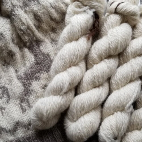 Fingering Angora Rabbit/Sheep Blend, Fawn – $28.00