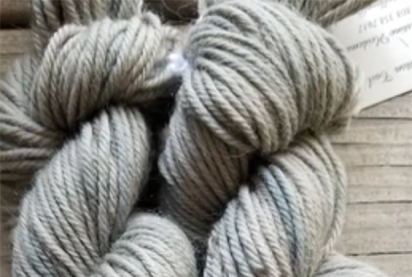 Naturally Dyed Sheep Yarn, Black Beans – $28.00