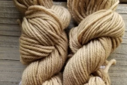 Naturally Dyed Sheep Yarn, Purple Tibuchina – $28.00