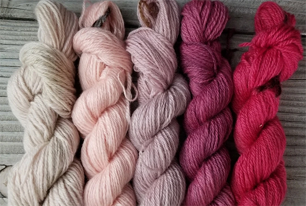 Naturally Dyed Sheep, Gradient – $135.00